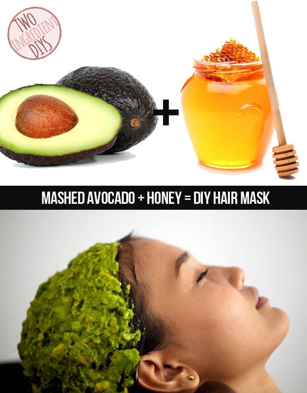 Homemade Hair Masks 6