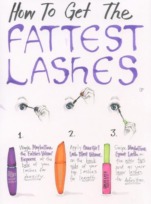 How to Get the Fattest Lashes