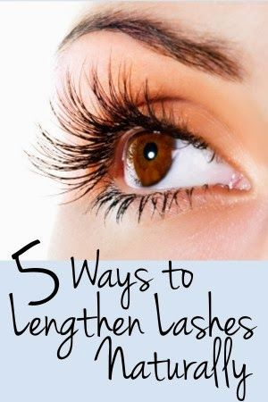 How to Lengthen Eyelashes