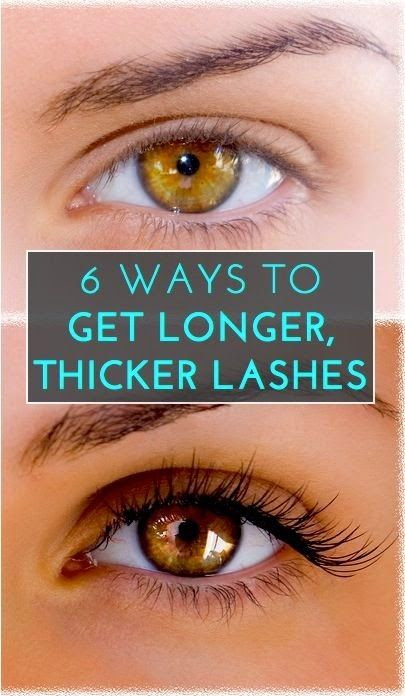How to Thicker Longer Eyelashes