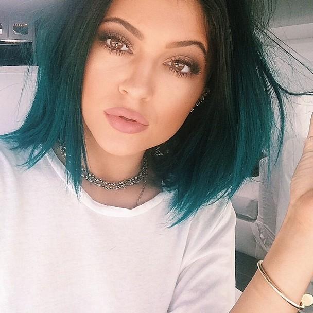 Kylie Jenner bob cut