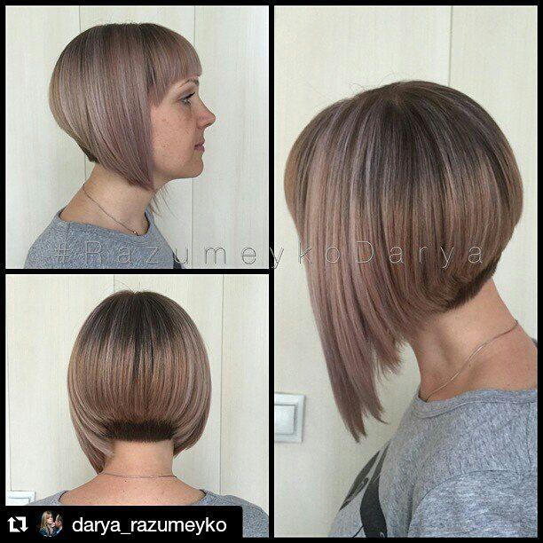 Latest trendy short bob haircut