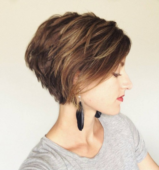 20 Chic Short Hairstyles for Women 2018 - Pretty Designs