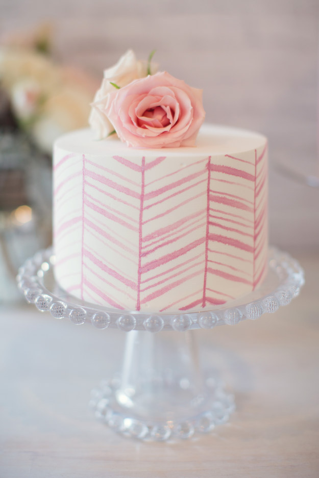Lovely Pink Chevrons