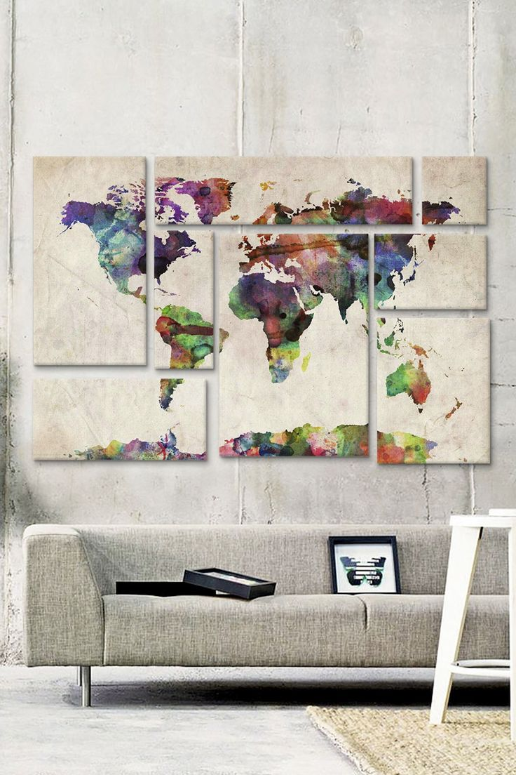 Map Decorating Home 16