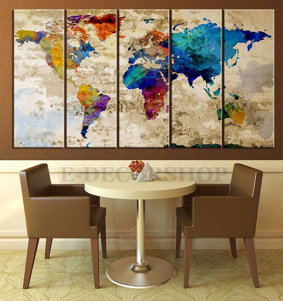 Map Decorating Home 17