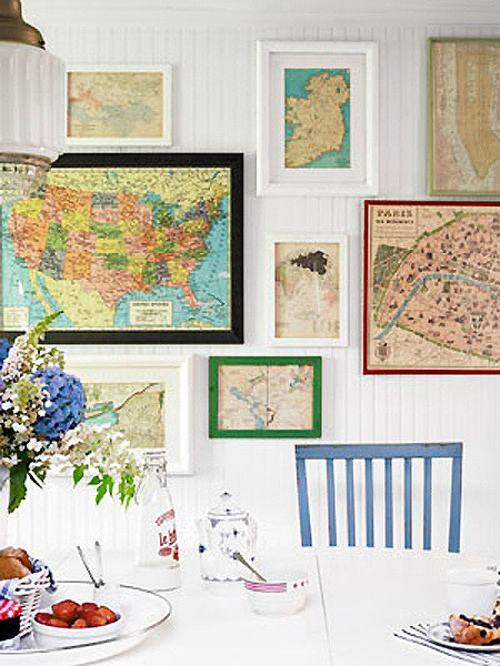 17 Home Decorating Ideas for People who Love Travel - Pretty ...