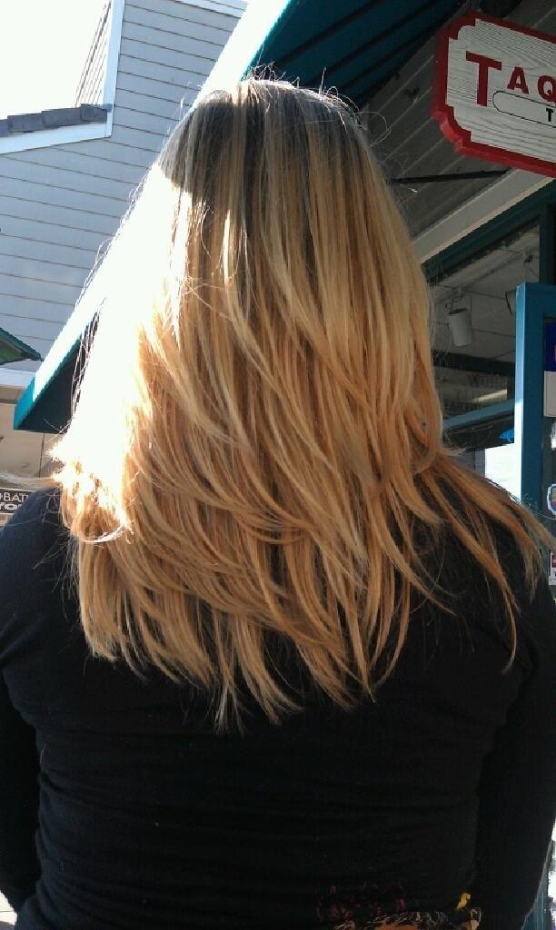 Medium Layered Haircut