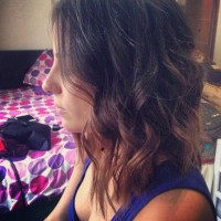 Medium-ombre-Bob-Hairstyle-with-waves