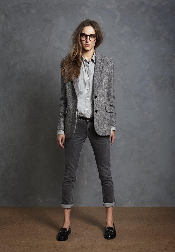 Menswear Inspired Suit