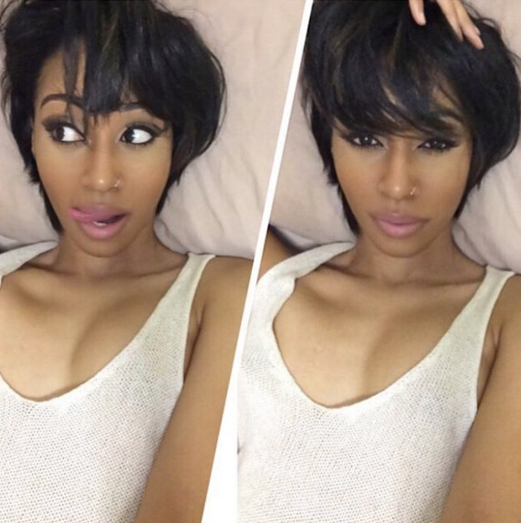 Tremendous 22 Cool Hairstyles For African American Women Pretty Designs Short Hairstyles For Black Women Fulllsitofus