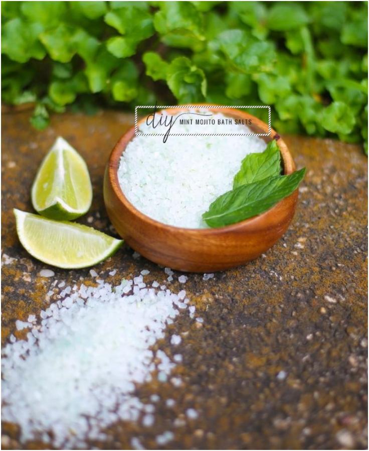Mint Mojito Bath Salts
