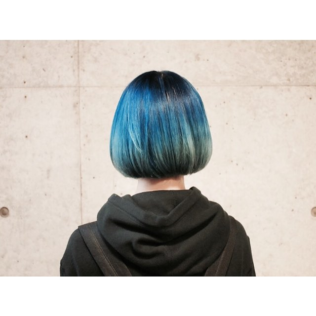 Back view of bob cut - Most popular short bob hairstyle color ideas