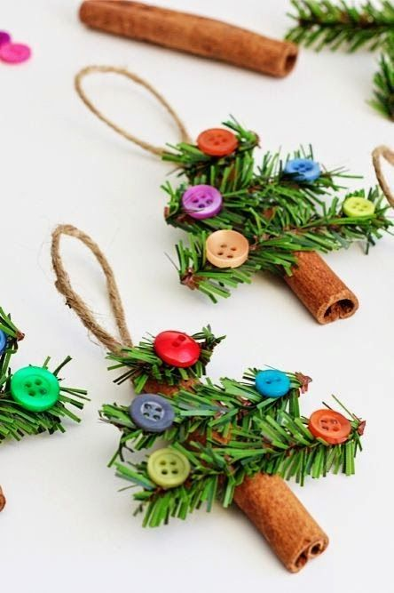 Ornaments Made with Sticks