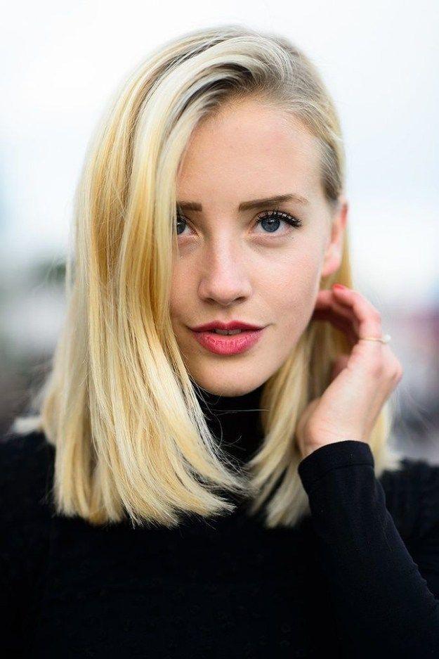 Pretty Shoulder Length Hair