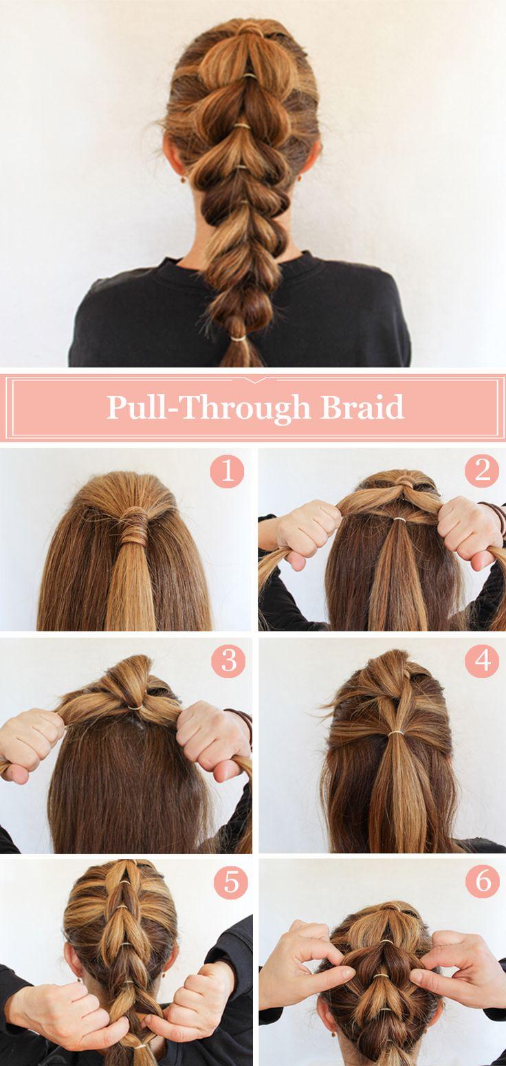 18 süße French Braid Frisuren für Mädchen