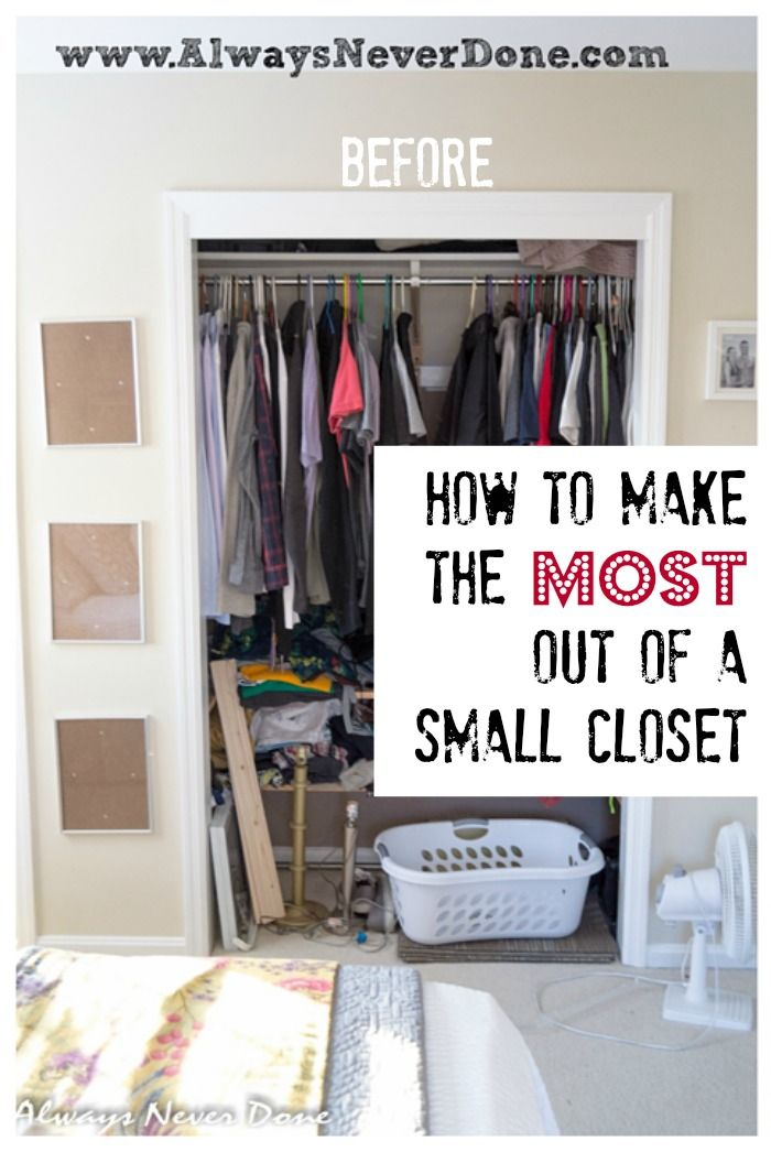 15 easy and clever ideas to arrange your closet pretty for How do you organize your closet