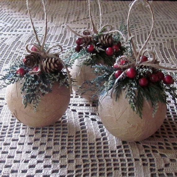 Rustic DIY Christmas Ornament