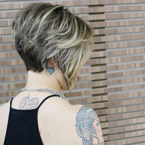 Short Bob Hairstyle for Women Over 40