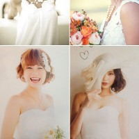 Short Bob Hairstyles for Wedding