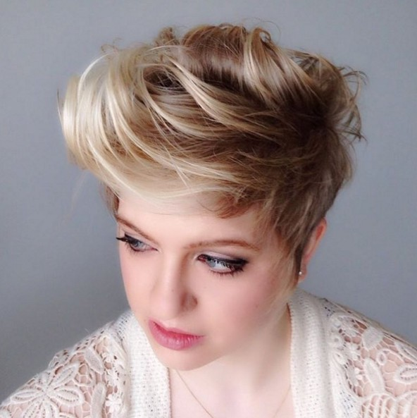 Short Fauxhawk Hairstyle