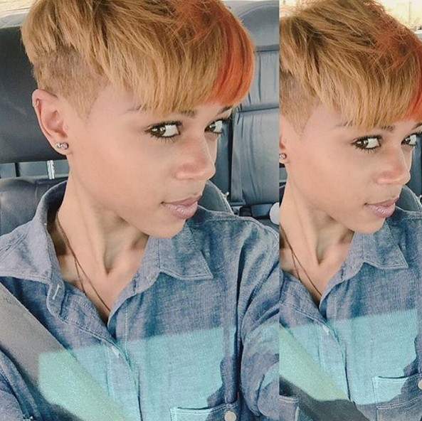 Short Hairstyle with Undercut