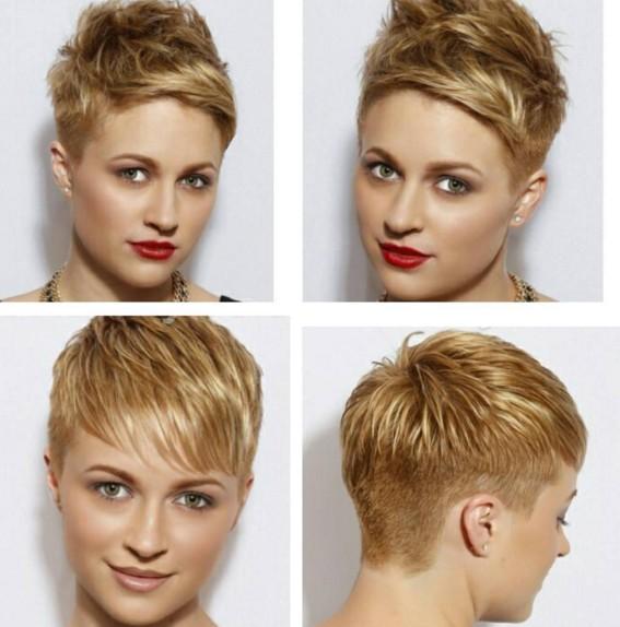 18 schöne kurze Frisuren für runde Gesichter 2019