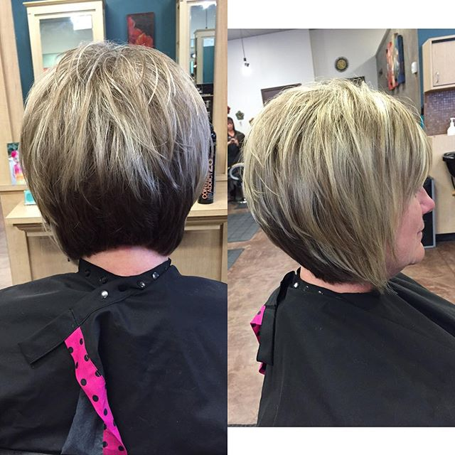 Short stacked bob haircuts for women over 50 pretty designs short stacked bob haircuts for women over 50 winobraniefo Images