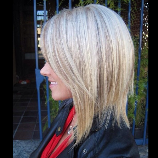 Layered Bob Hairstyles For Fine Thin Hair 90