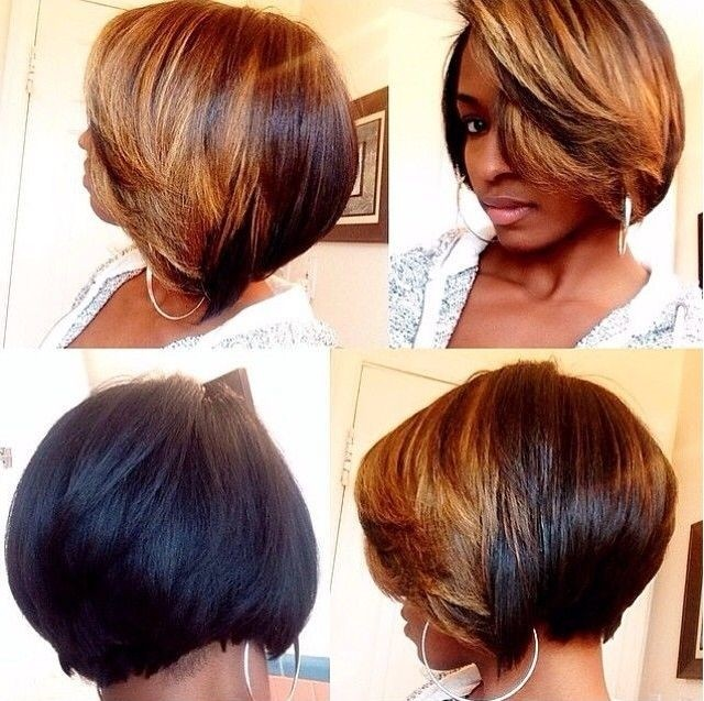 Superb Top 21 Best Bob Hairstyles For Black Women Pretty Designs Hairstyle Inspiration Daily Dogsangcom
