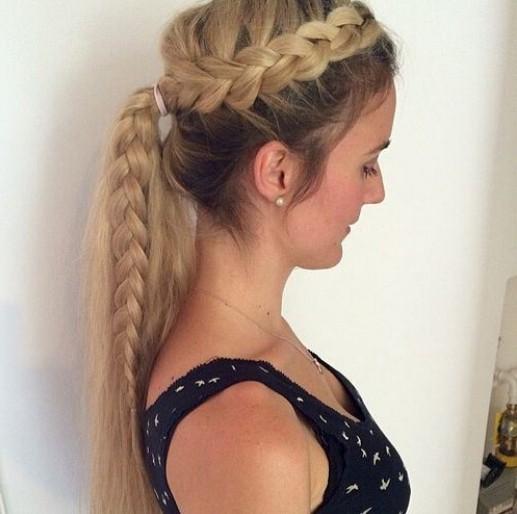 Terrific 16 Classic French Braid Hairstyles For Girls 2017 Pretty Designs Short Hairstyles For Black Women Fulllsitofus