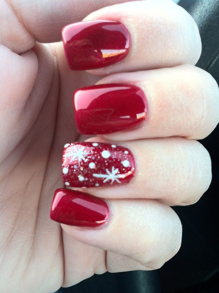 25 Christmas Nail Ideas To Try Pretty Designs