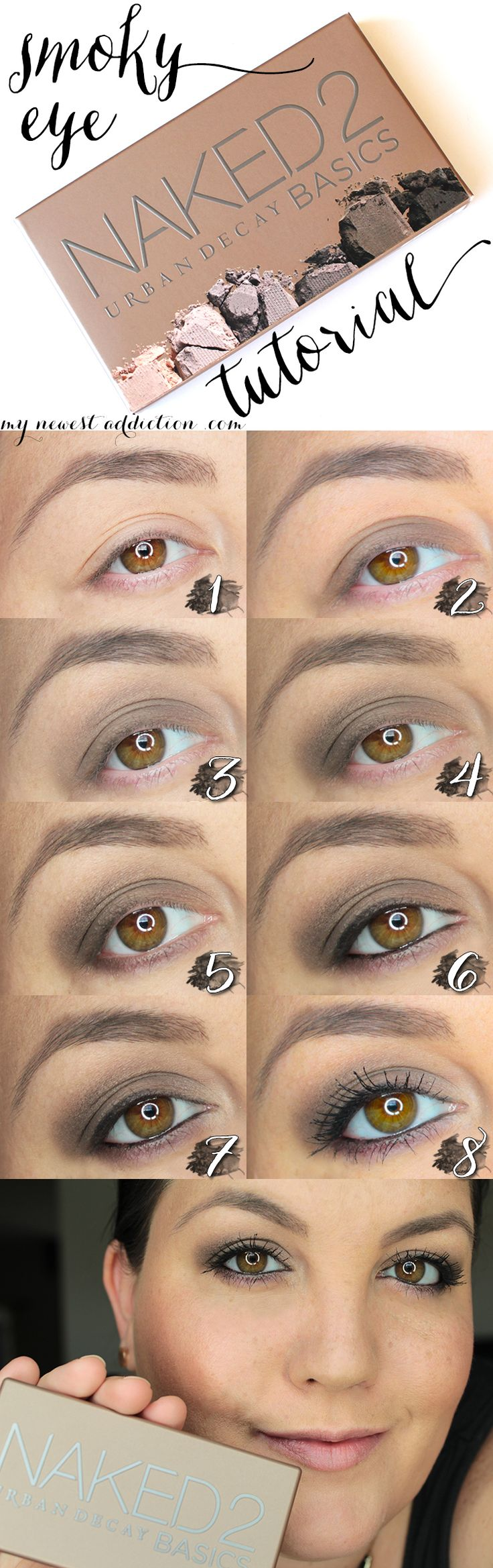 Simple Smokey Eye Shadow