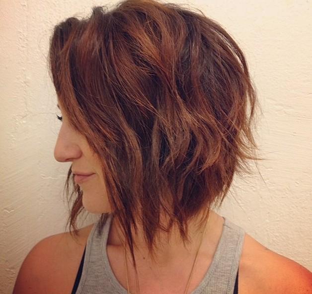 22 Graduated Bob Haircuts for Short/Medium Hair + $30 Paypal Free Giveaway - Pretty Designs
