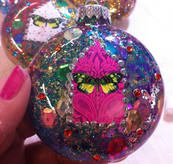 Sparkle Ornaments