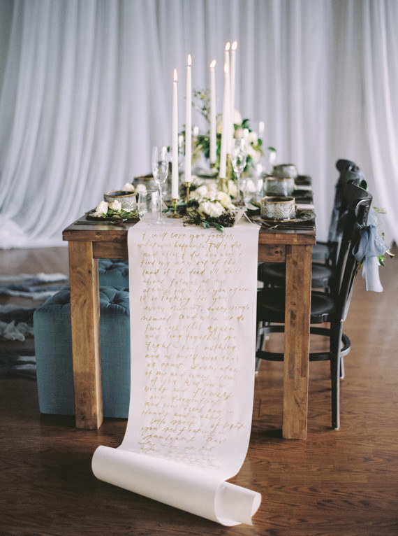 Special Table Runner