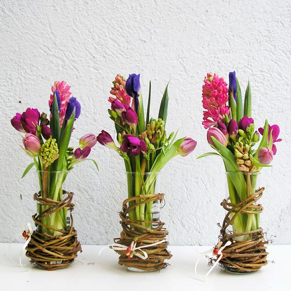 Ideas for spring vase arrangements pretty designs