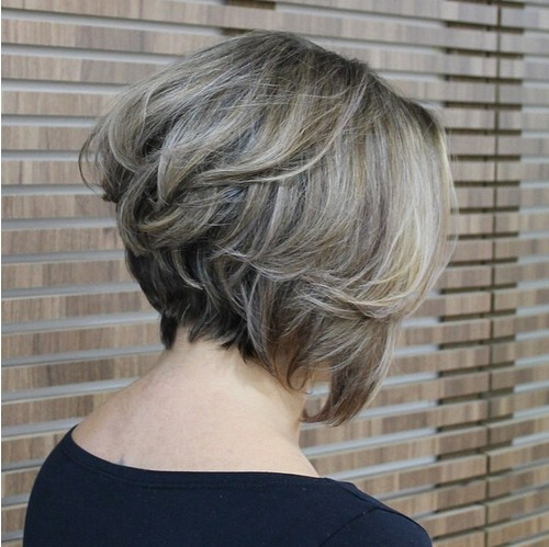 Stacked Bob Hairstyle