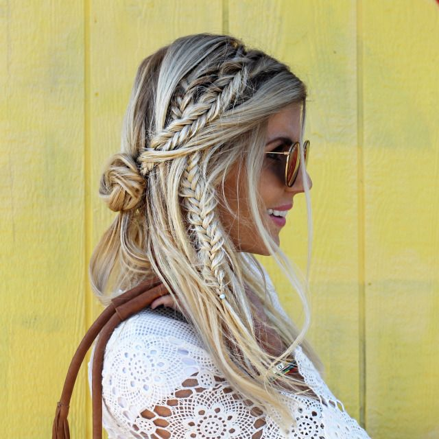 Stylish Braided Hairstyle