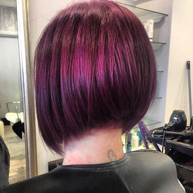 Textured Graduated Bob Hairstyle color ideas