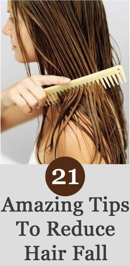 Tips to Reduce Hair Fall
