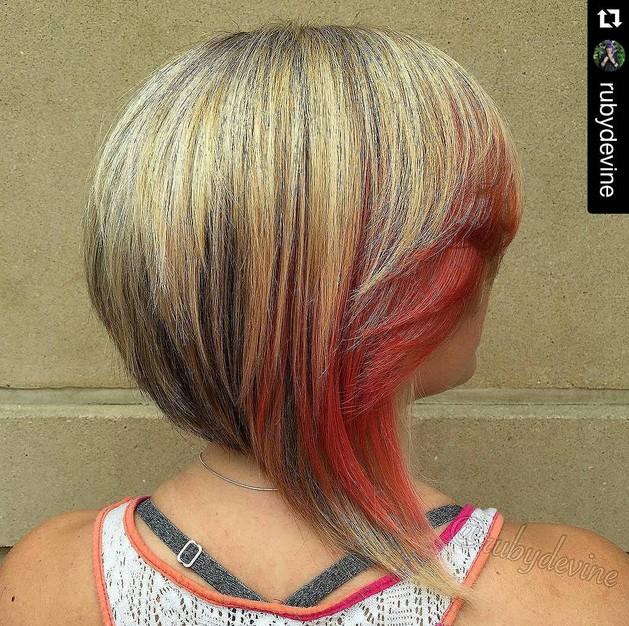 Trendy graduated bob hair designs