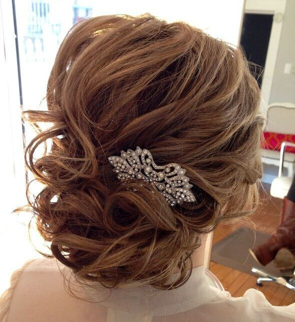 16 Gorgeous Medium Length Wedding Hairstyles: 25 Glorious Wedding Hairstyles For Medium Hair