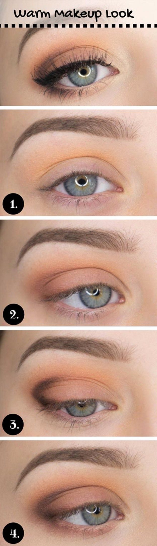 Warm Makeup Look