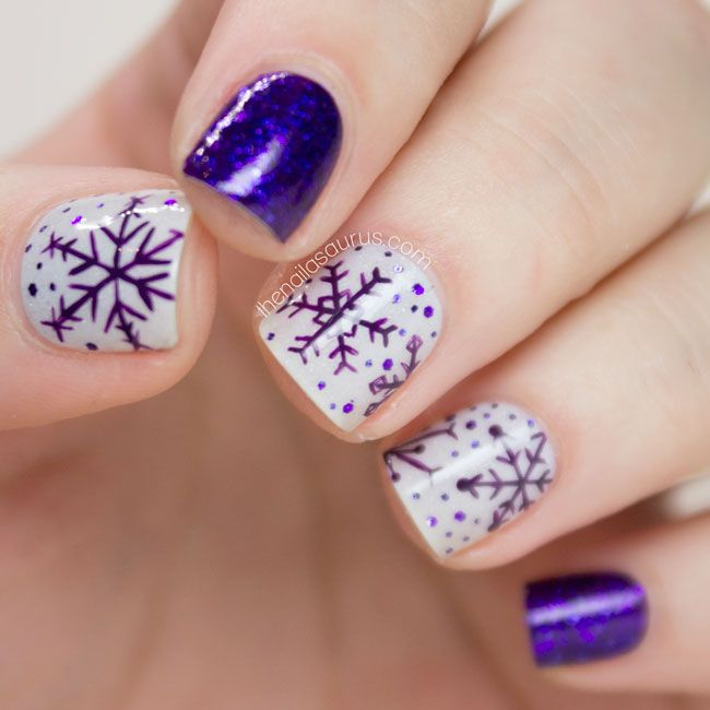 20 Winter Nail Arts You Should Have Now - Pretty Designs