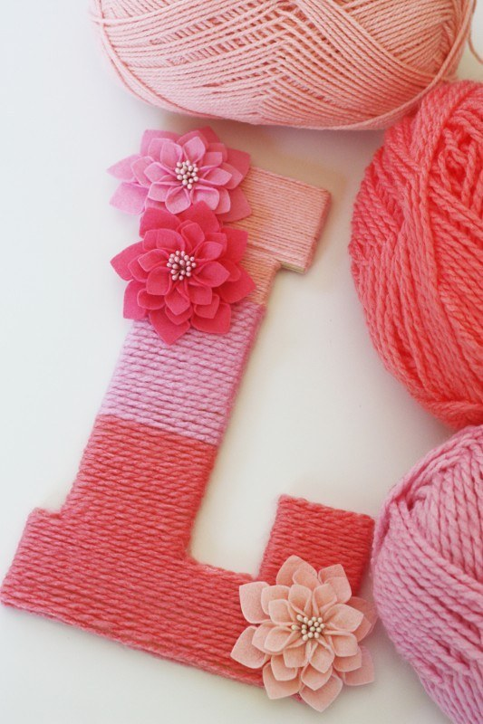 Yarn Wrapped Crafts