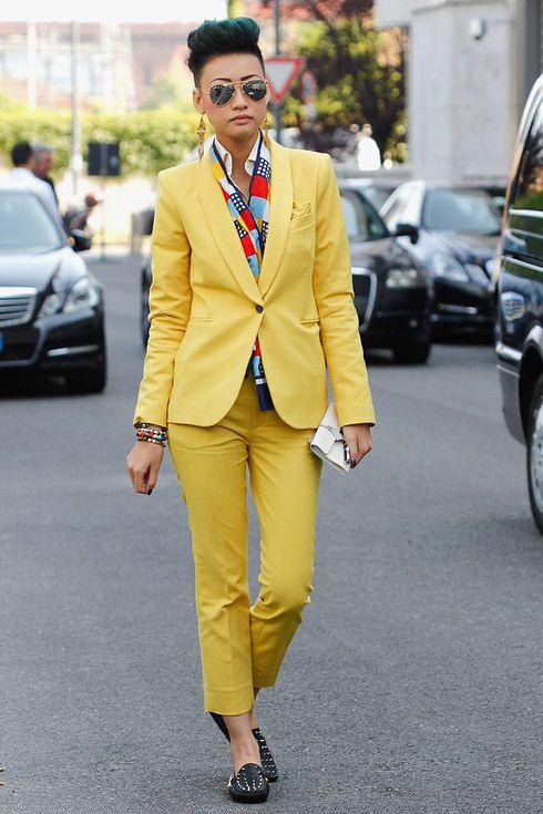 Yellow Suit