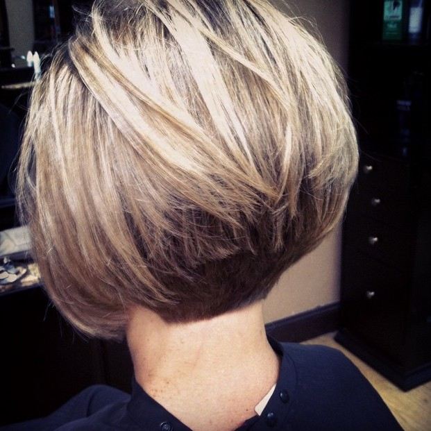 Marvelous 22 Stacked Bob Hairstyles For Your Trendy Casual Looks Pretty Short Hairstyles Gunalazisus