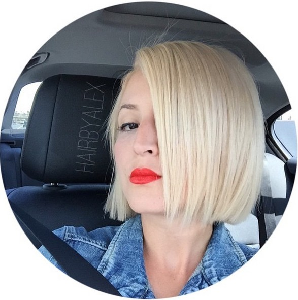 18 Popular Blunt Bob Hairstyles For Short Hair