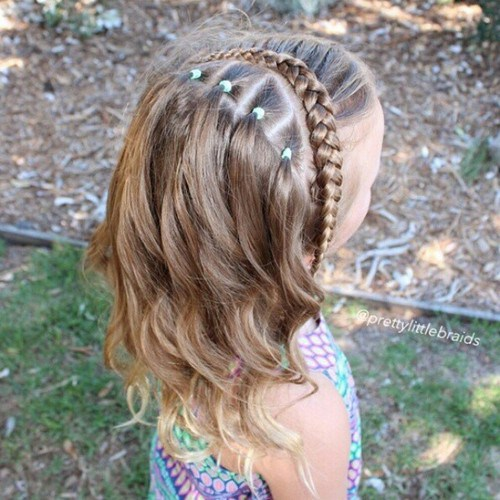 Stupendous 20 Sweet Braided Hairstyles For Girls Pretty Designs Hairstyle Inspiration Daily Dogsangcom